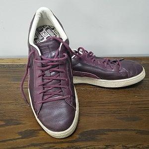 Puma Shoes   Mens Vintage Leather Pumas